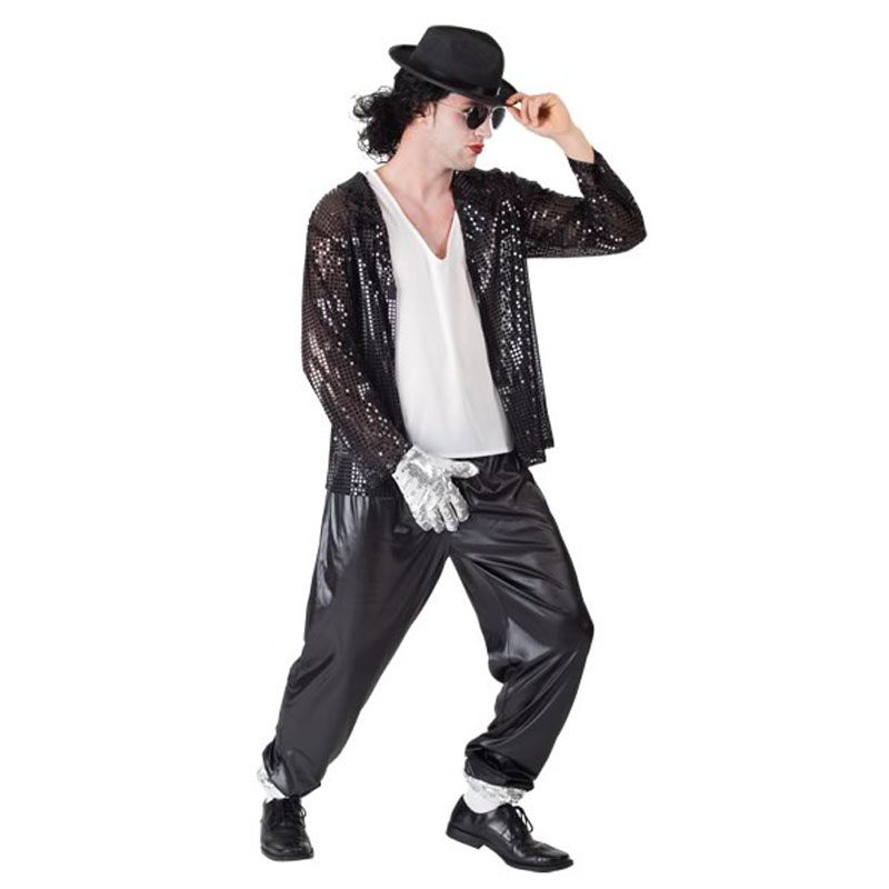 disfraz michel jackson adulto - DISFRAZ DE MICHAEL JACKSON ADULTO
