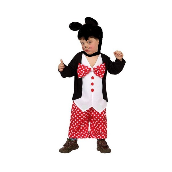 disfraz mickey bebé - DISFRAZ DE RATON BEBE