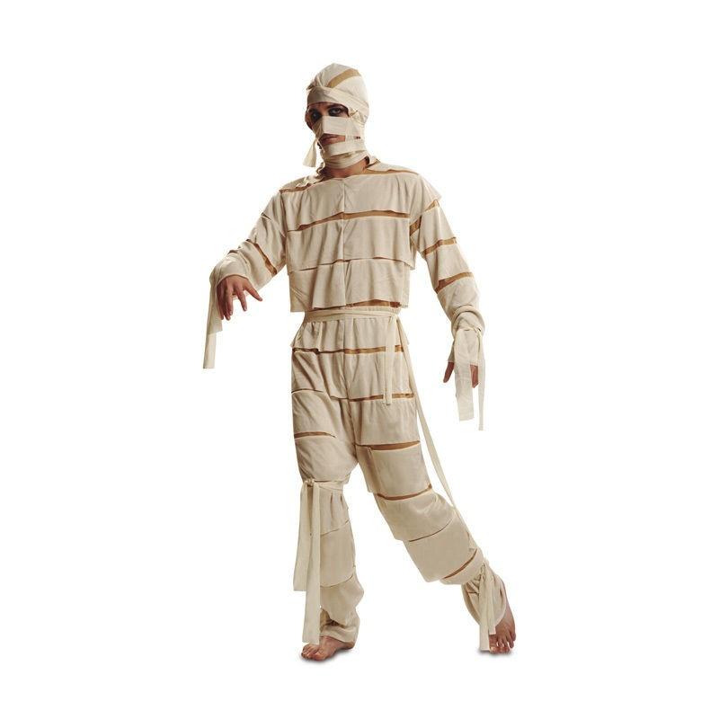 disfraz momia adulto 1 - DISFRAZ DE MOMIA ADULTO