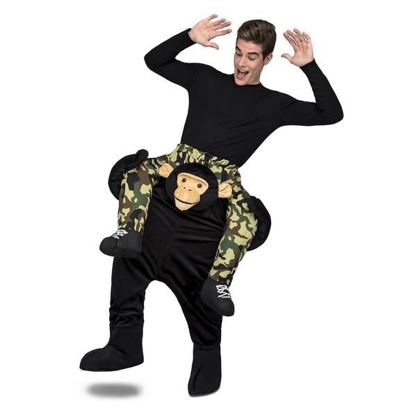 disfraz momo a hombros adulto - DISFRAZ DE MONO A HOMBROS ADULTO
