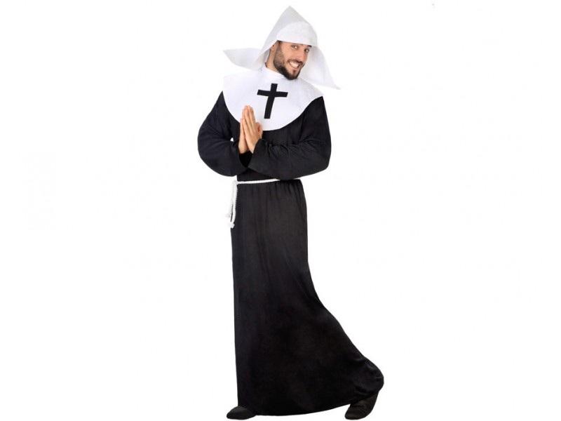 disfraz monja hombre - DISFRAZ DE MONJA HOMBRE