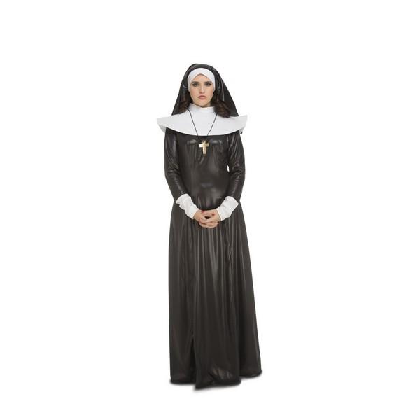 disfraz monja mujer - DISFRAZ DE MONJA CRUZ MUJER