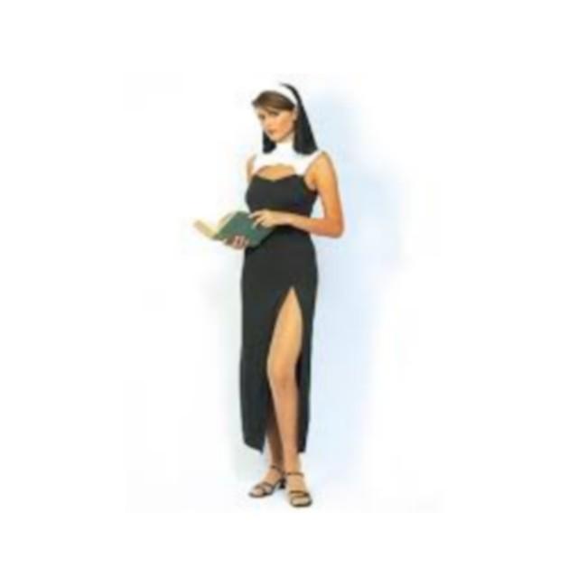 disfraz monja pecadora mujer - DISFRAZ DE MONJA PECADORA MUJER