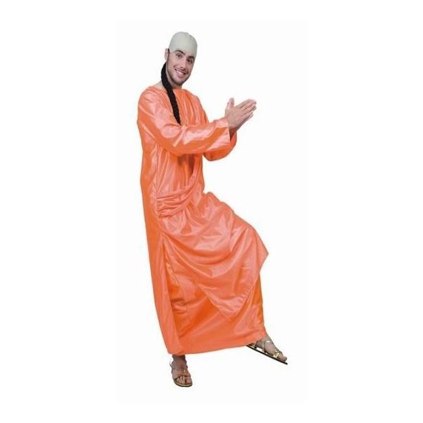 disfraz monje budista adulto1 - DISFRAZ DE MONJE BUDISTA HOMBRE