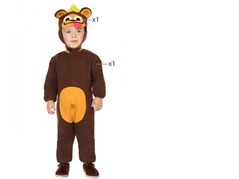 disfraz mono bebé - DISFRAZ DE MONO BEBE