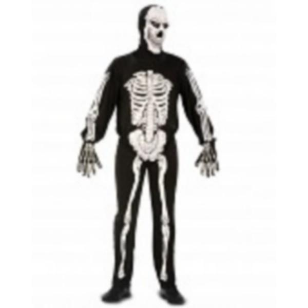 disfraz mono esqueleto adulto - DISFRAZ DE ESQUELETO ADULTO