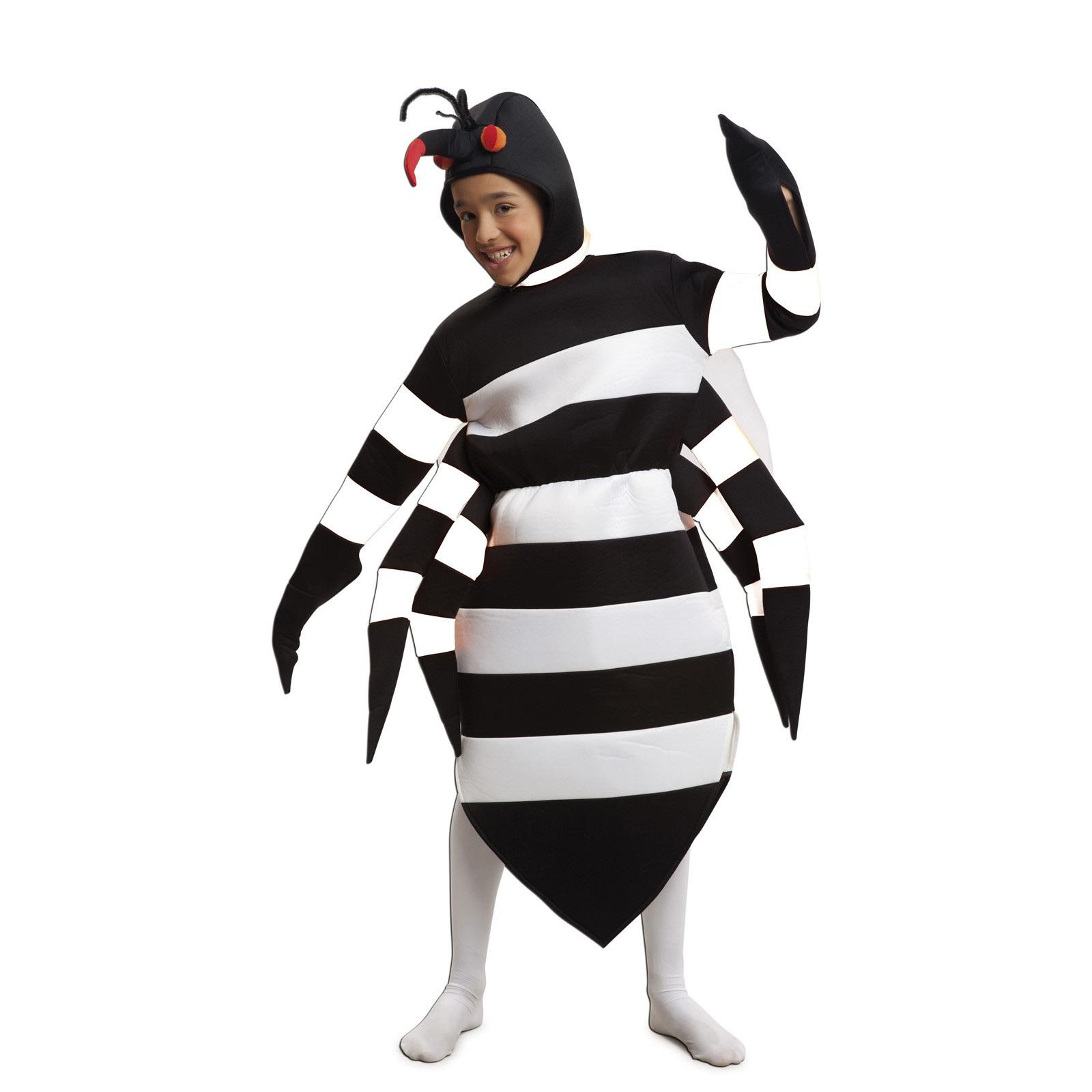 disfraz mosquito tigre niño 203728mom - DISFRAZ DE MOSQUITO TIGRE INFANTIL