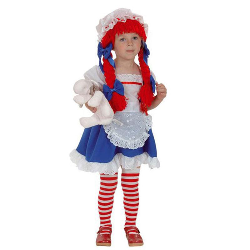 disfraz muñeca peque - DISFRAZ DE MUÑECA DE TRAPO BEBE