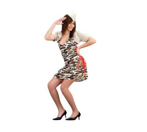disfraz mujer camuflaje - DISFRAZ DE CAMUFLAJE MUJER