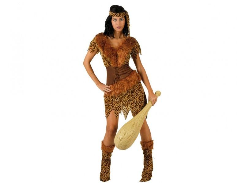 disfraz mujer de las cavernas - DISFRAZ DE MUJER DE LAS CAVERNAS