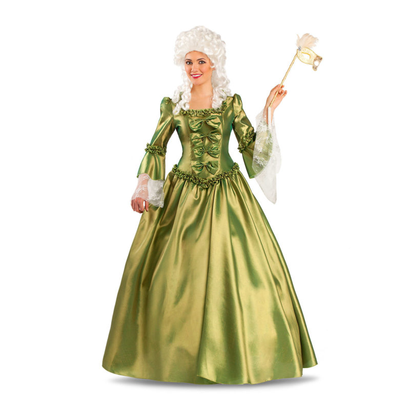 disfraz mujer versalles verde 800x800 - DISFRAZ DE DE VERSALLES VERDE MUJER