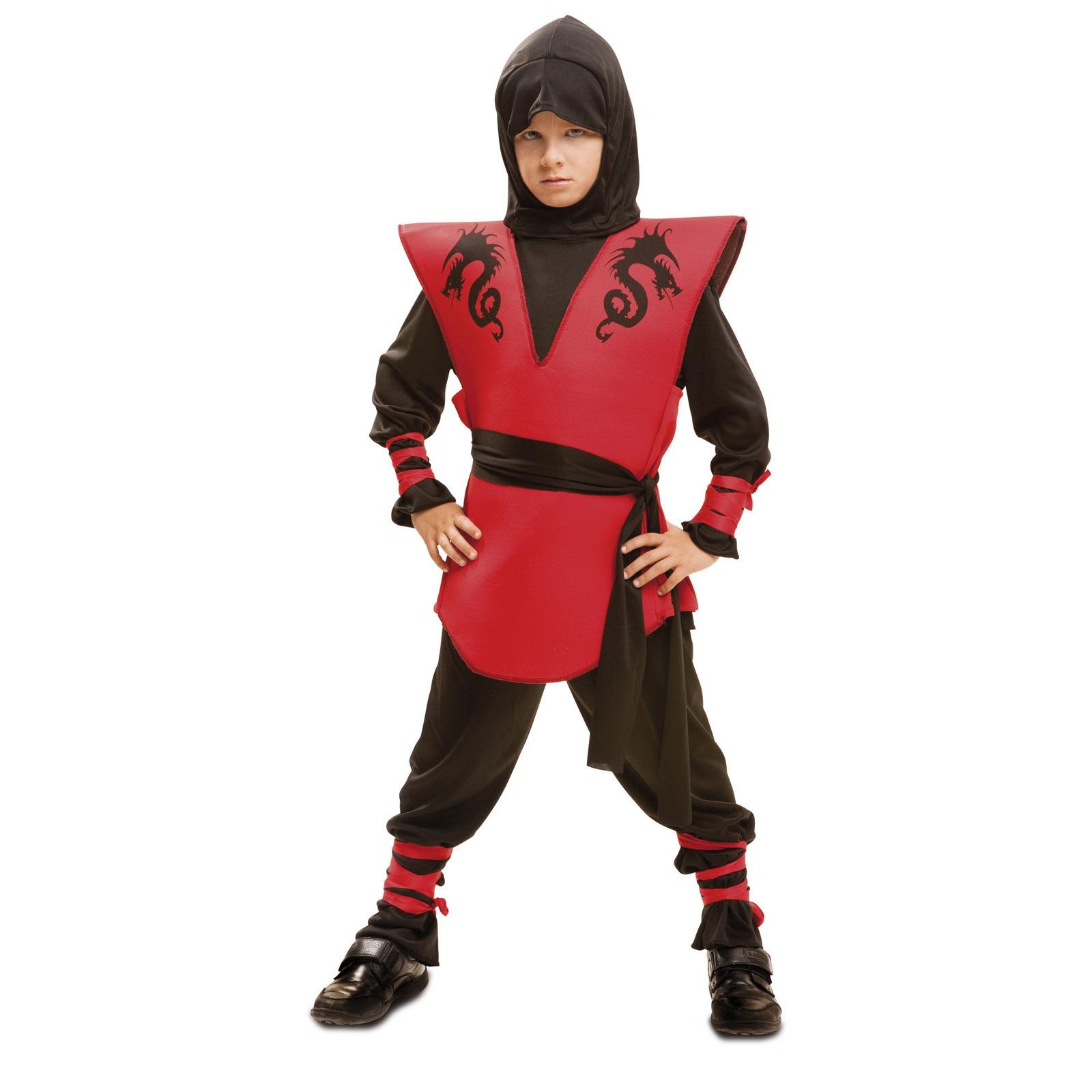 disfraz ninja dragón niño 202044mom - DISFRAZ DE NINJA DRAGON NIÑO