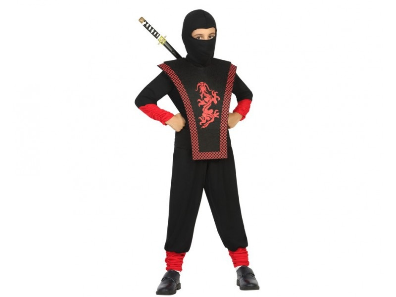 disfraz ninja guerrero niño - DISFRAZ DE NINJA GUERRERO NIÑO