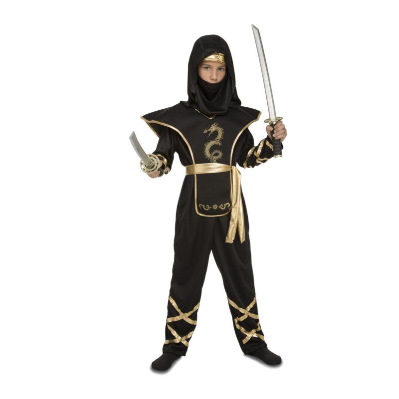 disfraz ninja negro niño 800x800 - DISFRAZ DE NINJA NEGRO NIÑO