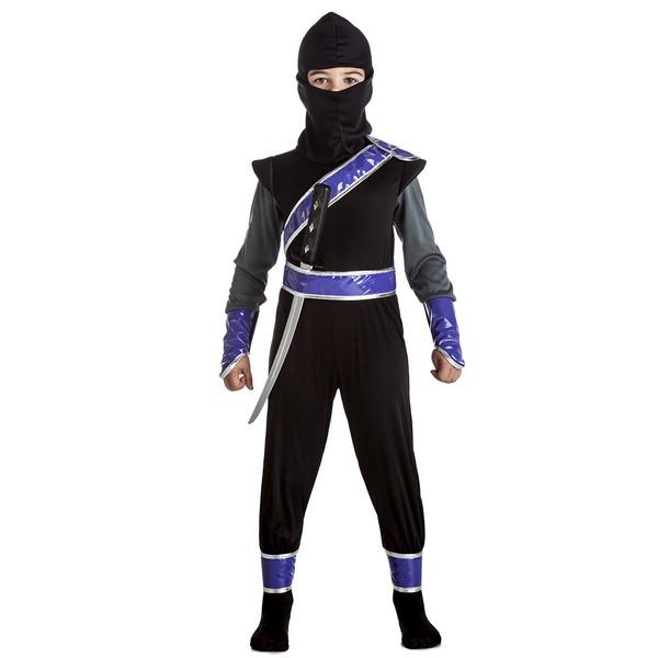 disfraz ninja policia niño - DISFRAZ DE NINJA POLICIA NIÑO