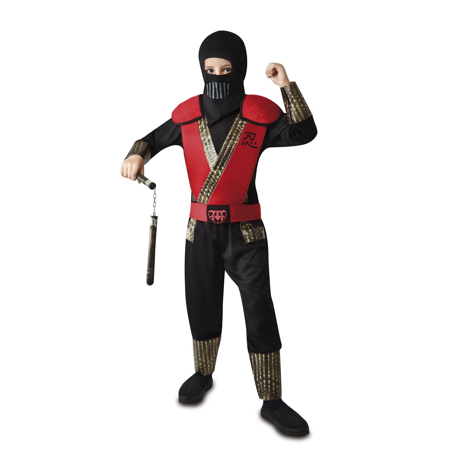 disfraz ninja rojo niño 203143mom - DISFRAZ DE NINJA ROJO NIÑO