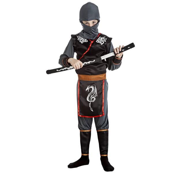 disfraz ninja rojo niño - DISFRAZ DE NINJA  NIÑO