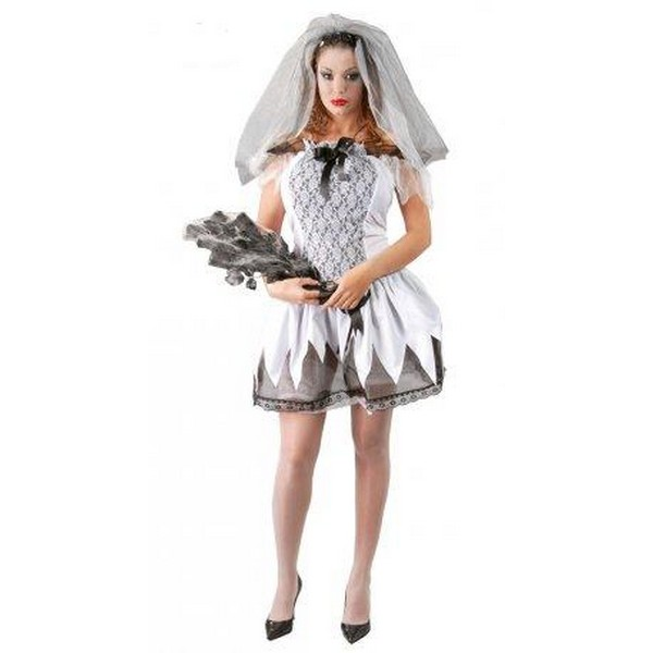 disfraz novia cadaver mujer - DISFRAZ DE NOVIA CADÁVER MUJER