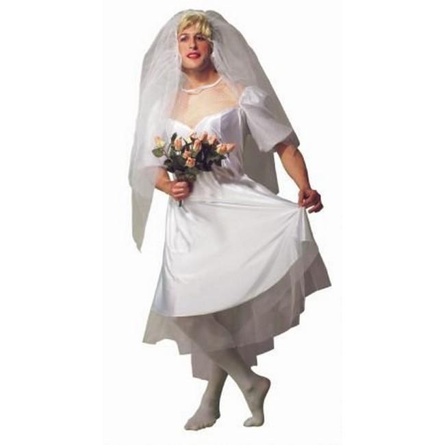 disfraz novia hombre  - DISFRAZ DE NOVIA PARA HOMBRE
