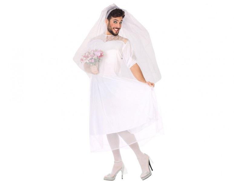 disfraz novia hombre - DISFRAZ DE NOVIA HOMBRE