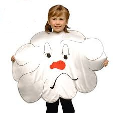 disfraz nube infantil 1 - DISFRAZ DE NUBE INFANTIL