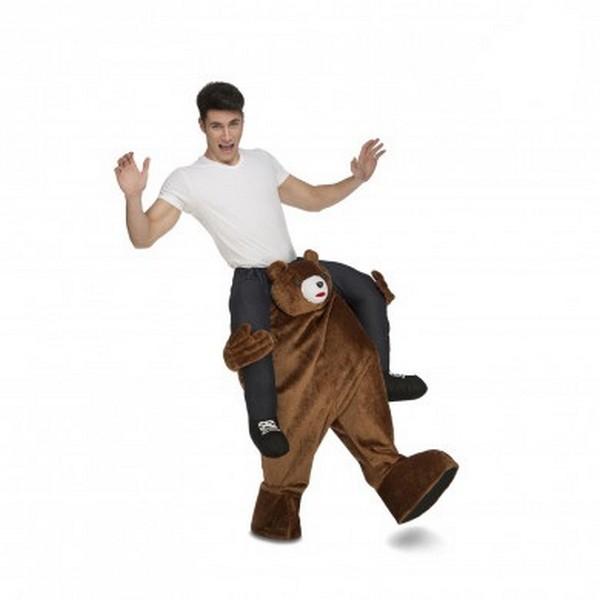 disfraz oso a hombros adulto 1 - DISFRAZ DE OSO A HOMBROS ADULTO