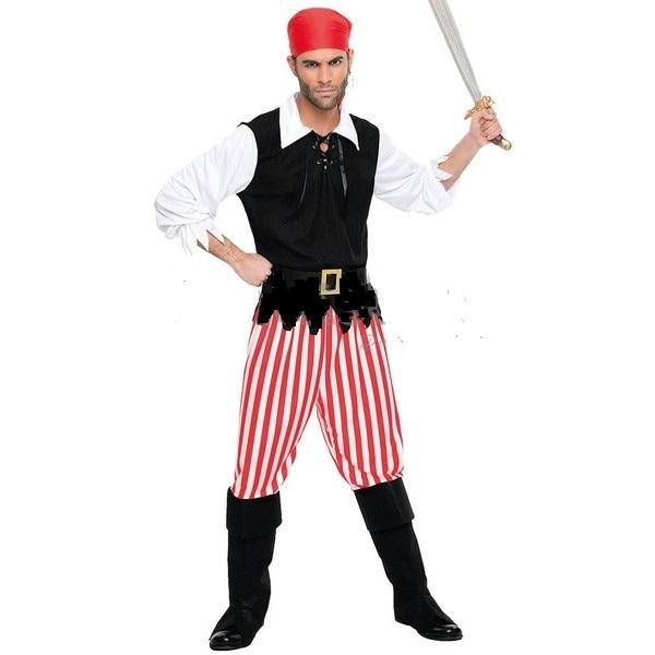disfraz para hombre pirata corsario negro 1 - DISFRAZ DE CORSARIO NEGRO ADULTO