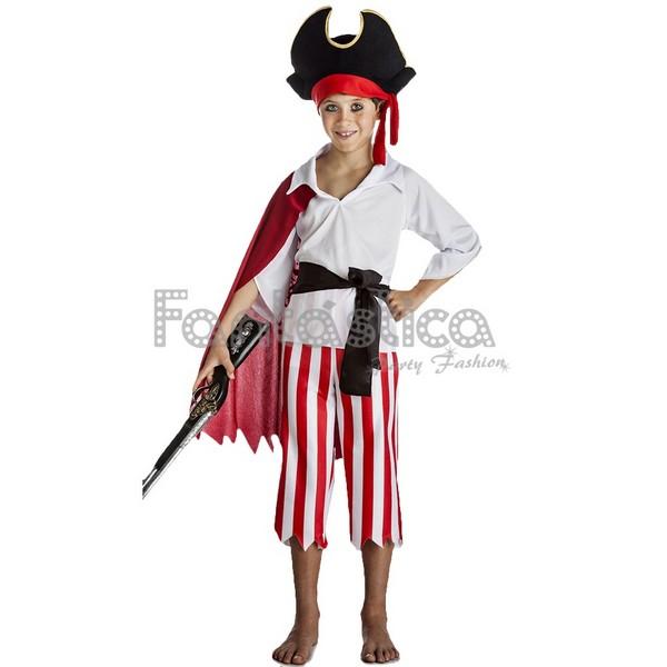 disfraz para nino pirata capa - DISFRAZ DE PIRATA CAPA NIÑO