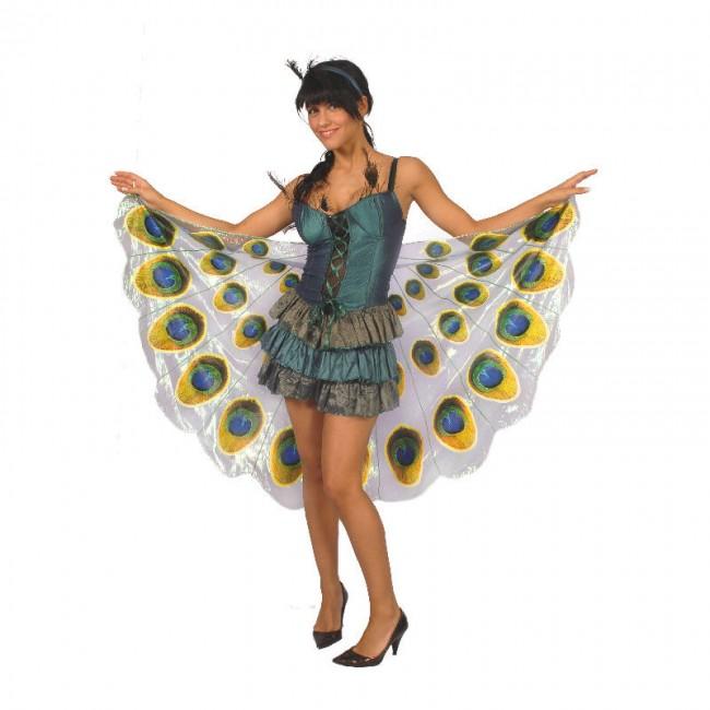 disfraz pavo real mujer - DISFRAZ DE PAVO REAL MUJER