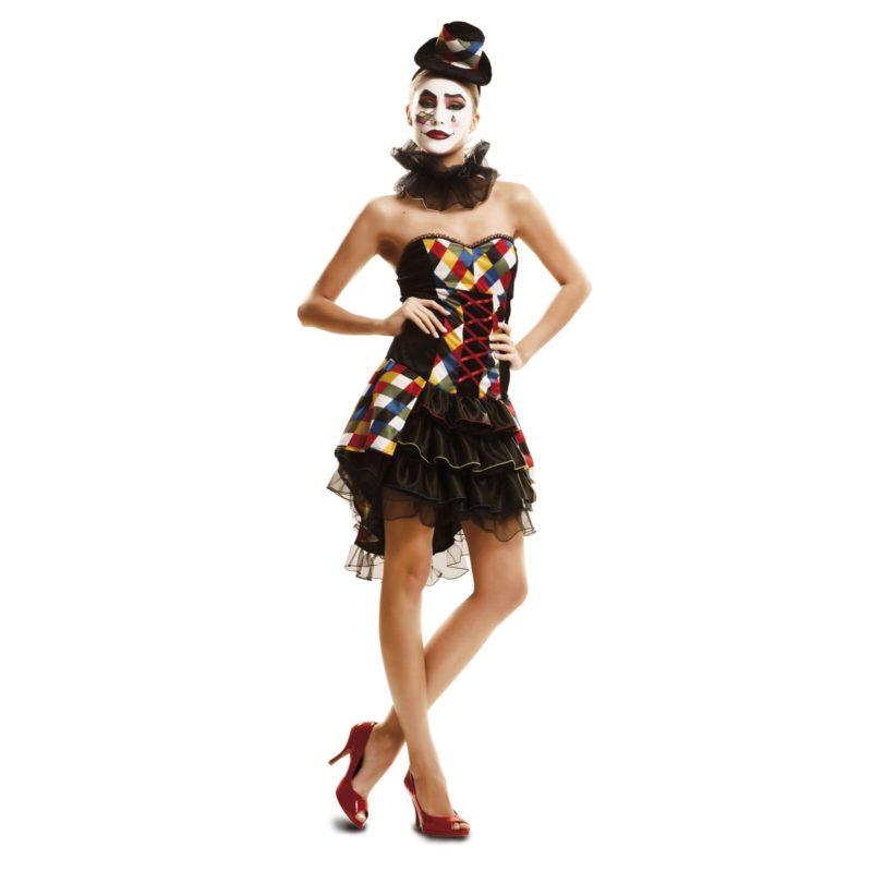 disfraz payasa mujer 1 800x800 - DISFRAZ DE PAYASA SEXY MUJER