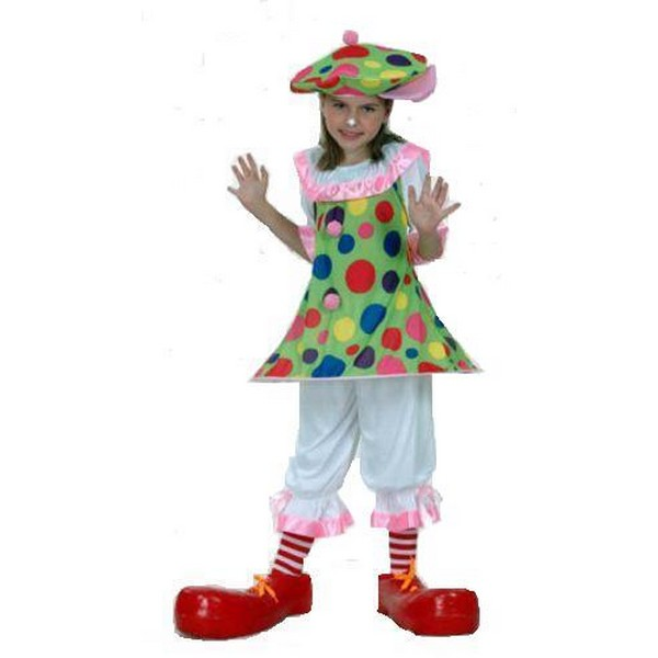 disfraz payasita infantil - DISFRAZ DE PAYASITA NIÑA