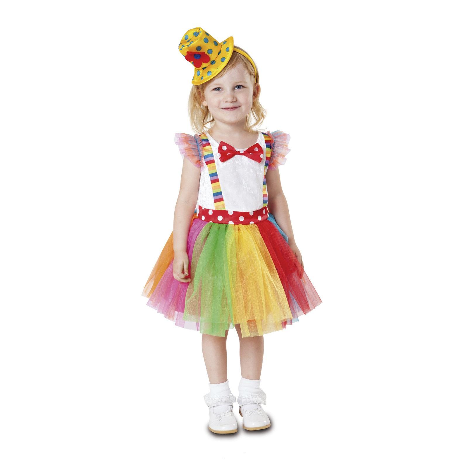 disfraz payasita tutú niña 203199mom - DISFRAZ DE PAYASITA TUTU NIÑA