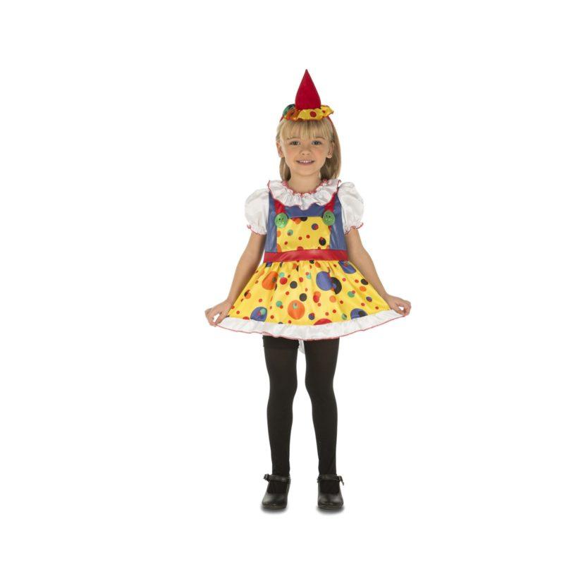 disfraz payaso niña 1 800x800 - DISFRAZ DE PAYASO BEBE NIÑA