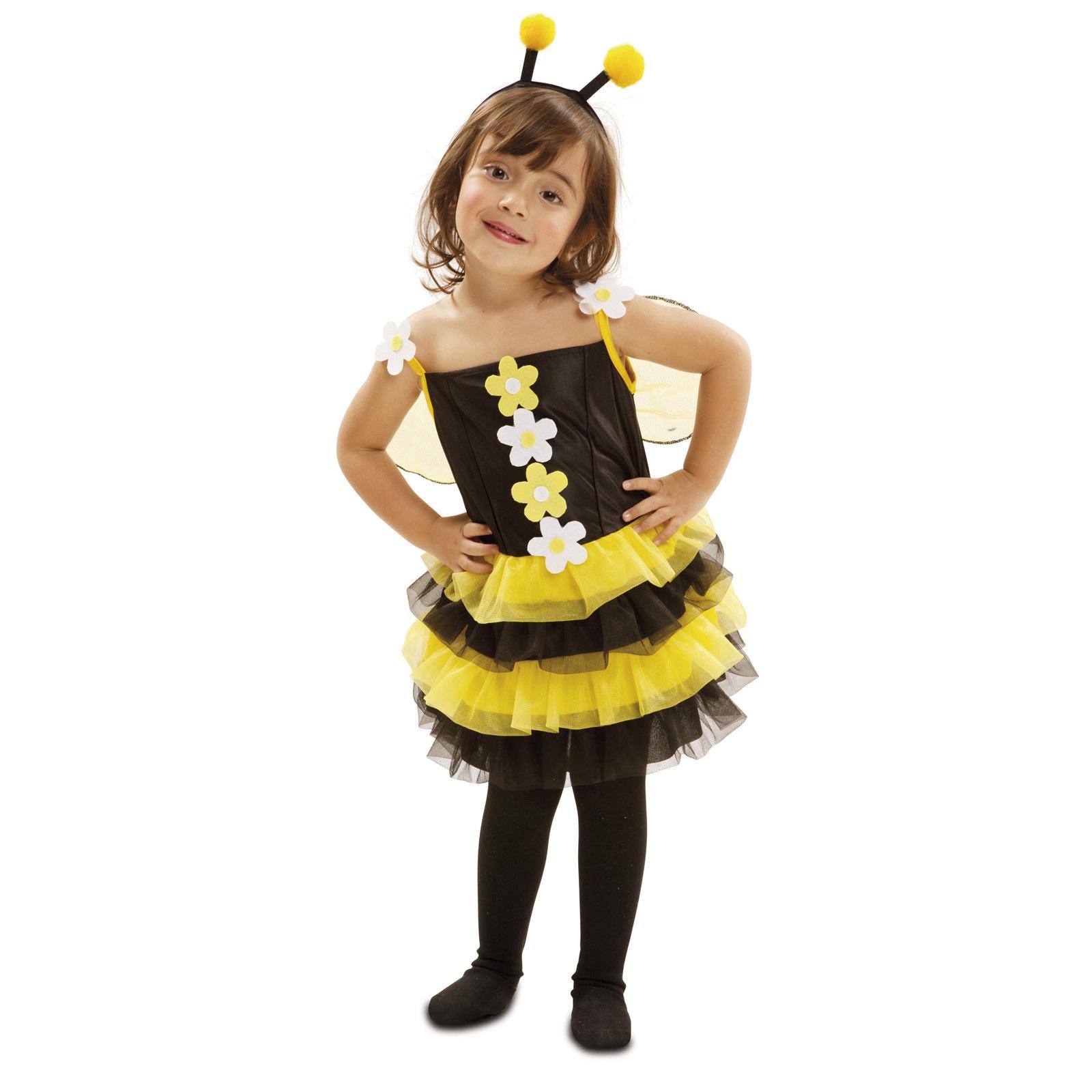 disfraz pequeña abejita 202288mom - DISFRAZ DE PEQUEÑA ABEJITA NIÑA