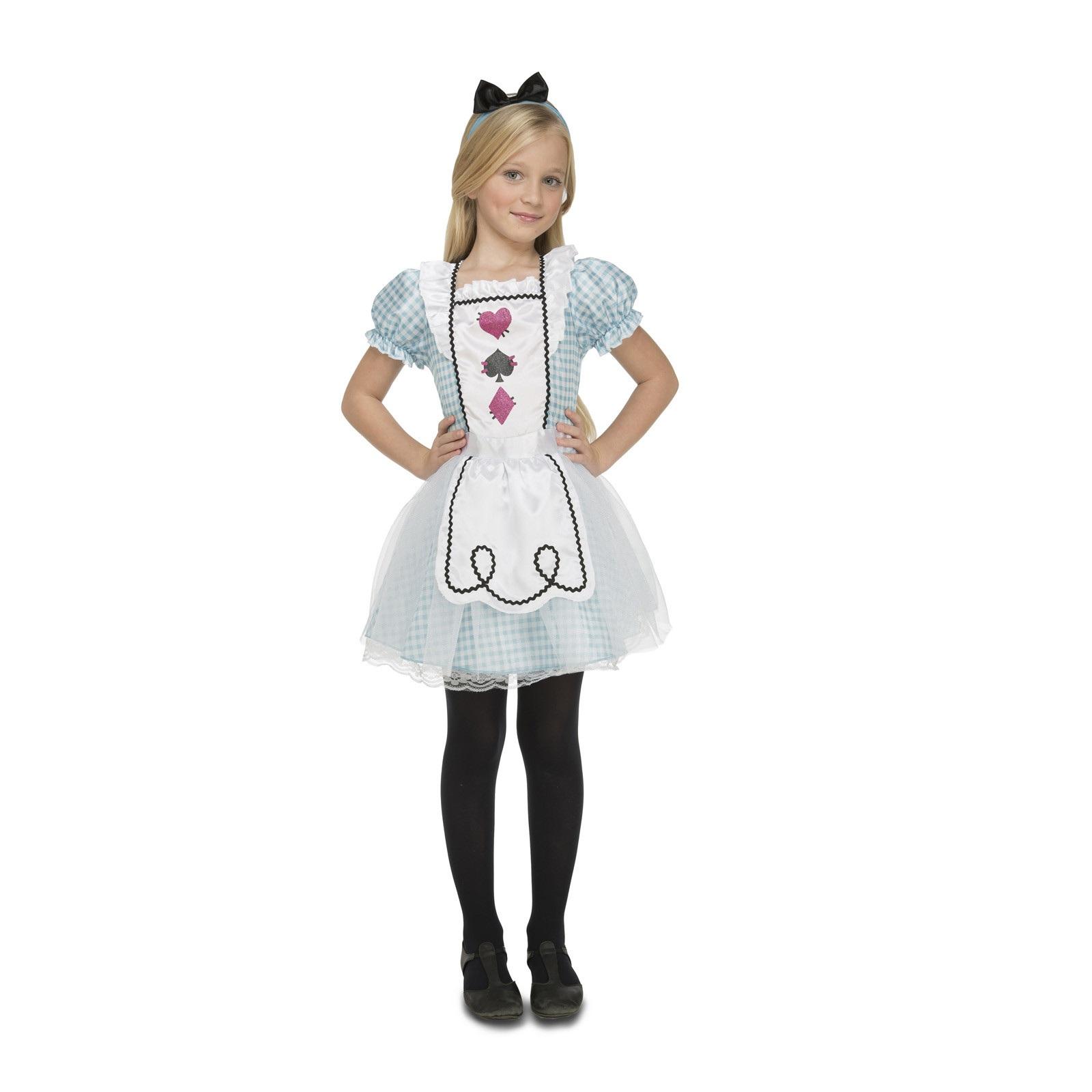 disfraz pequeña alicia niña 204092mom - DISFRAZ DE PEQUEÑA ALICIA NIÑA