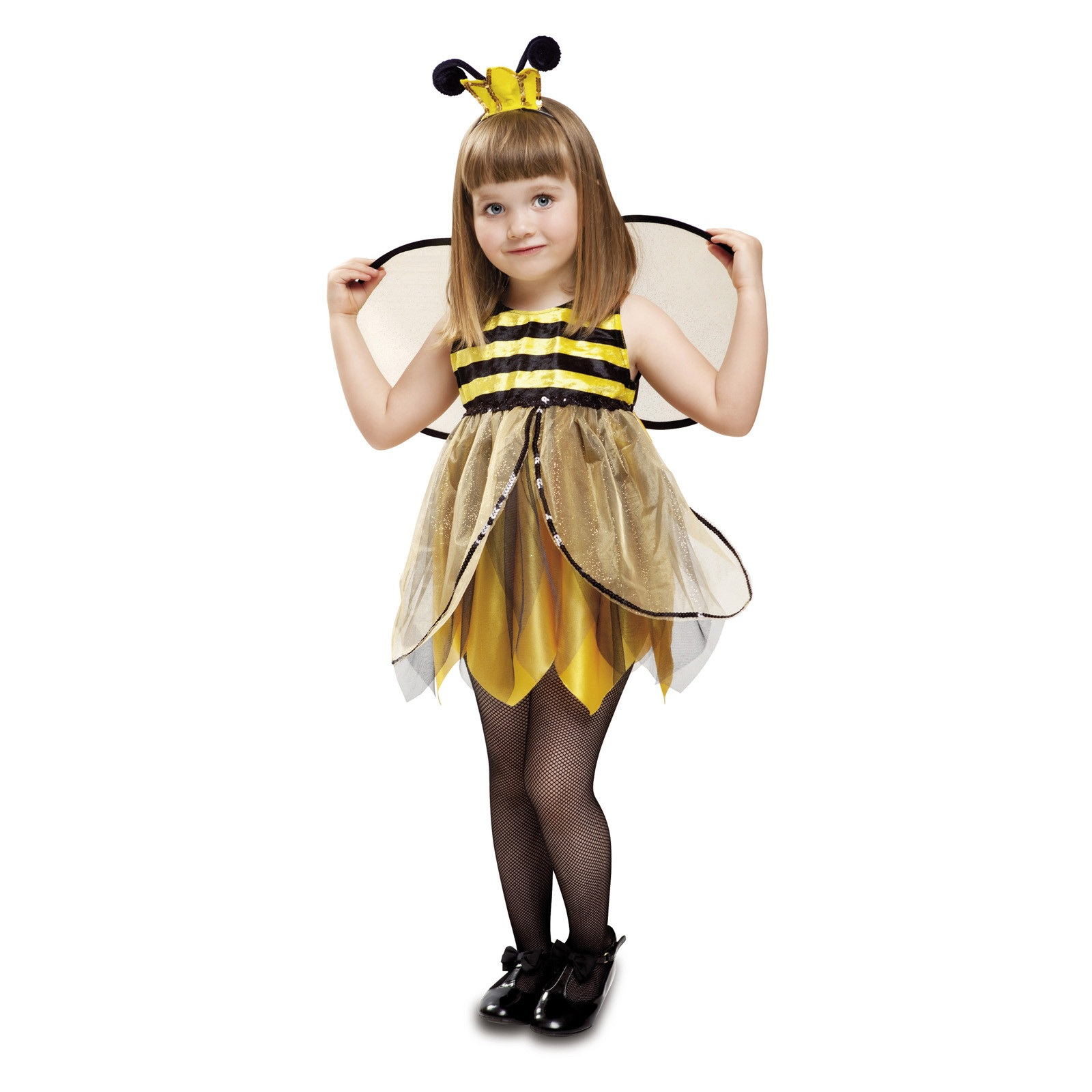 disfraz pequeña mariquita niña 201313mom 1 - DISFRAZ DE ABEJITA HADA BEBE