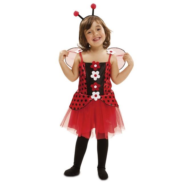disfraz pequeña mariquita niña - DISFRAZ DE PEQUEÑA MARIQUITA NIÑA