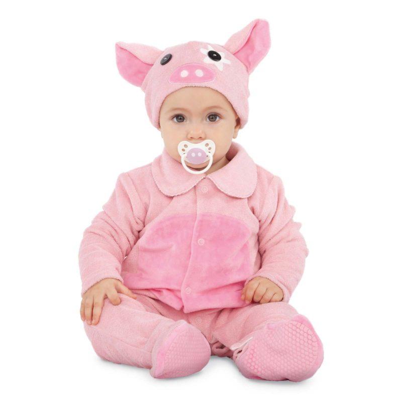 disfraz pequeño cerdito bebé 4 800x800 - DISFRAZ DE PEQUEÑO CERDITO BEBÉ