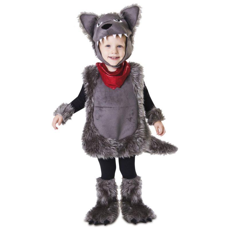 disfraz pequeño lobo infantil 800x800 - DISFRAZ DE PEQUEÑO  LOBO BEBE