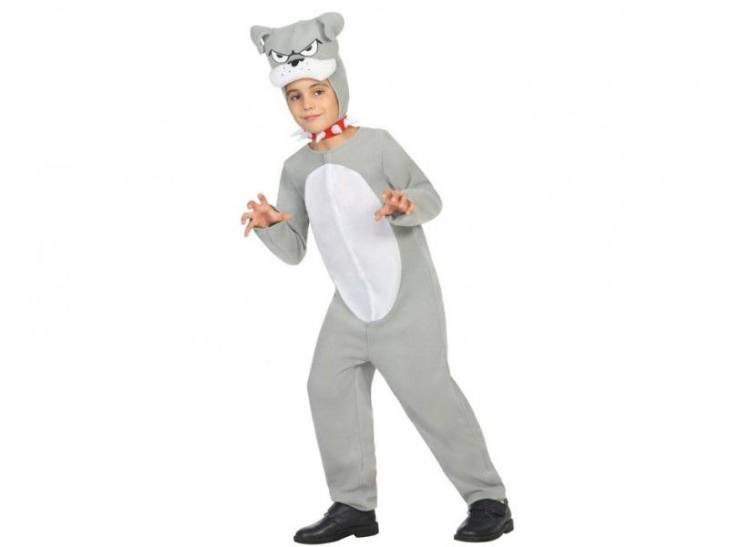 disfraz perro gris infantil - DISFRAZ DE PERRO GRIS INFANTIL