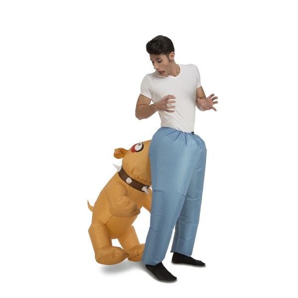 disfraz perro hinchable hombre 204212mom - DISFRAZ DE PERRO HINCHABLE PARA ADULTO