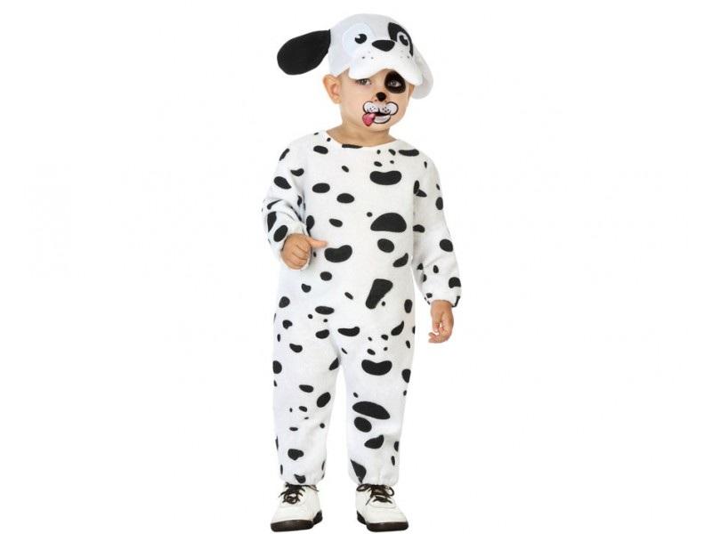 disfraz perro infantil 1 - DISFRAZ DE PERRO DALMATA BEBE
