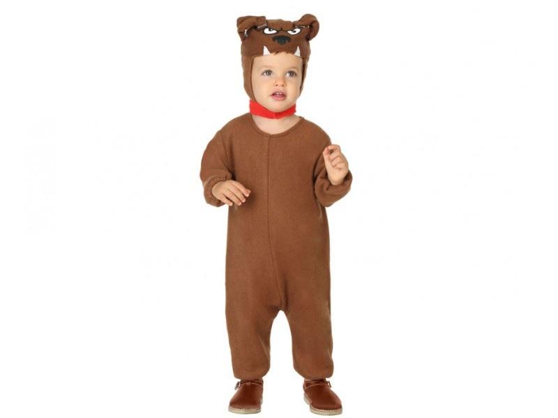 disfraz perro marrón infantil - DISFRAZ DE PERRO MARRON BEBE