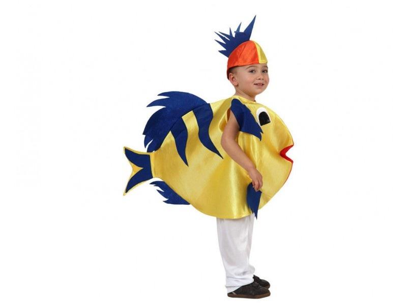 disfraz pez amarillo infantil - DISFRAZ DE PEZ AMARILLO INFANTIL