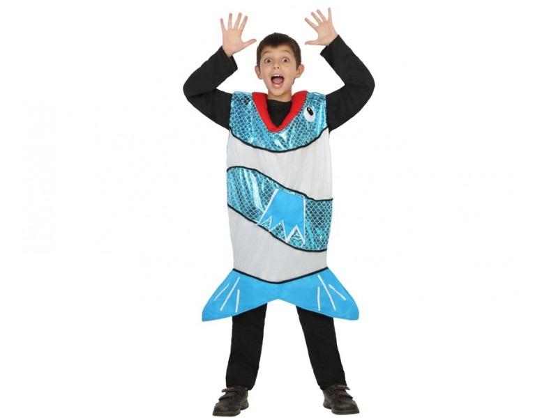 disfraz pez azul infantil - DISFRAZ DE PEZ AZUL INFANTIL