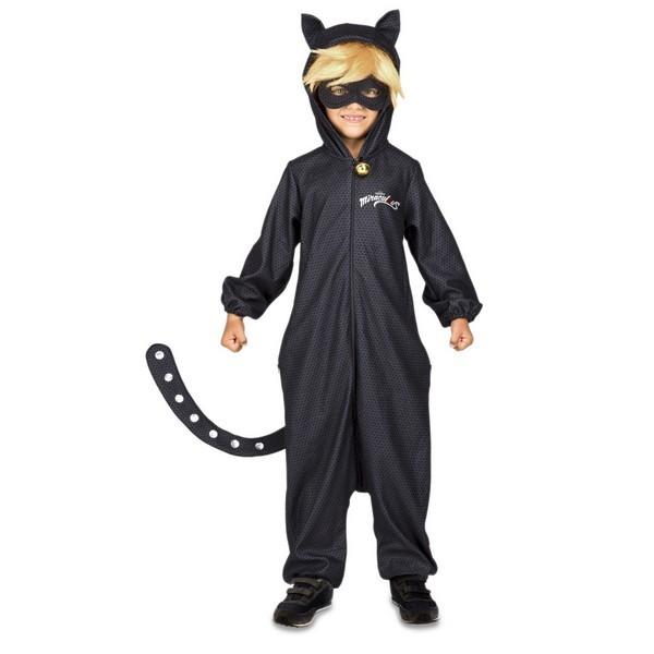disfraz pijama cat noir infantil - DISFRAZ PIJAMA DE CAT NOIR NIÑO