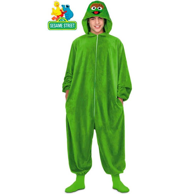 disfraz pijama de óscar el gruñón adulto 800x800 - DISFRACES HOMBRE