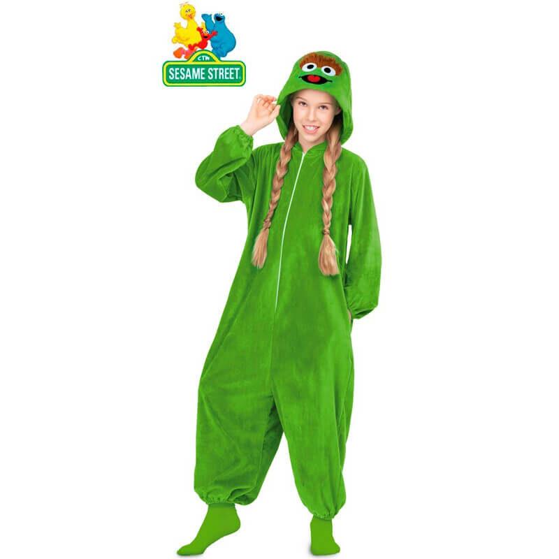 disfraz pijama de óscar el gruñón infantil 800x800 - DISFRACES NIÑA