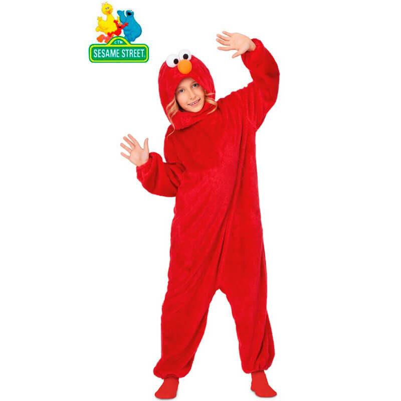 disfraz pijama de elmo infantil 800x800 - DISFRAZ DE ELMO BARRIO SÉSAMO INFANTIL