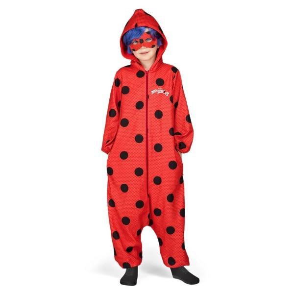 disfraz pijama ladybug infantil - DISFRAZ PIJAMA DE LADYBUG NIÑA